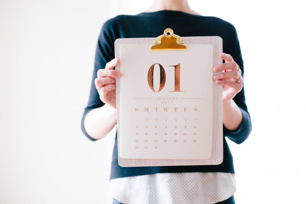 qué es un calendario de contenido